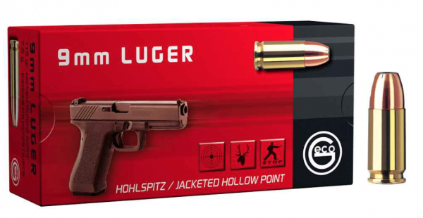 9mm Luger HP / 115grs. / Geco